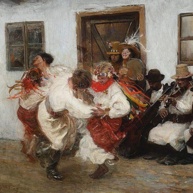 Украинский народный танец Коломыйка