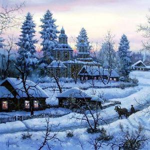 Евгений Родыгин Белым снегом