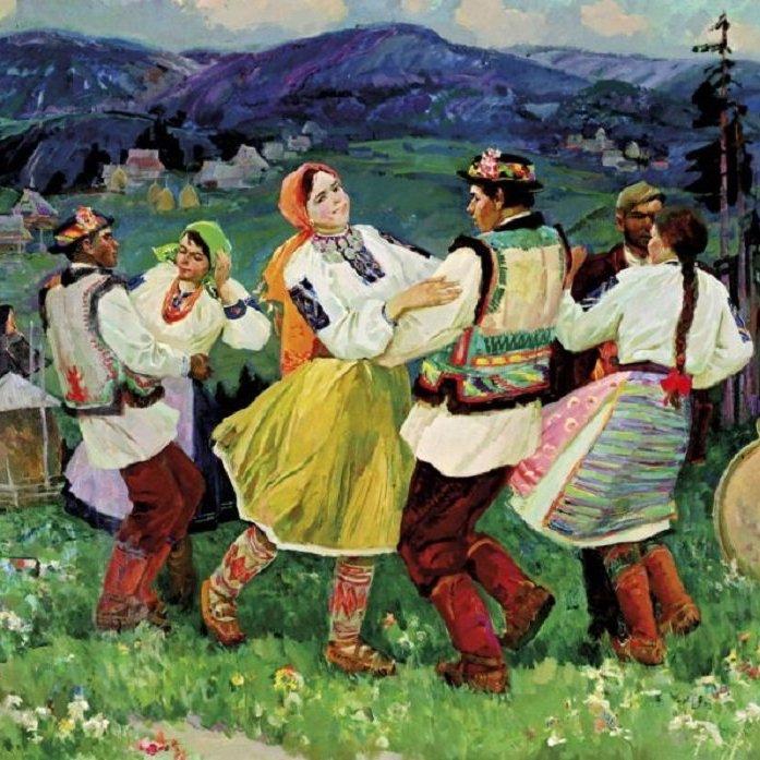 Украинский народный танец Буковинские коломыйки