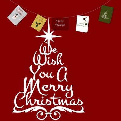 Рождественский гимн We Wish You a Merry Christmas