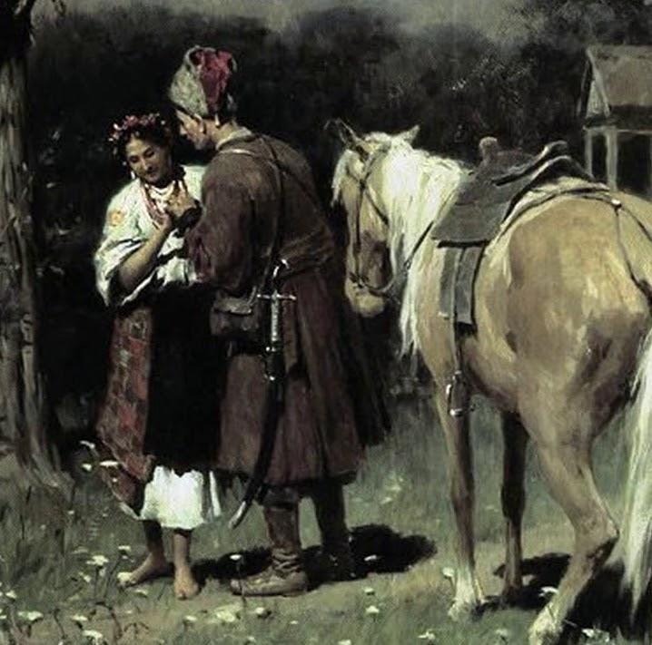 Украинская народная песня Роспрягайте, хлопцы, коней