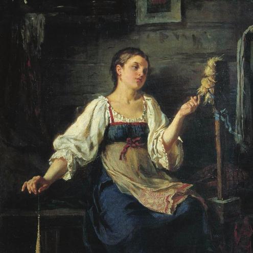 Русская народная песня Пряха